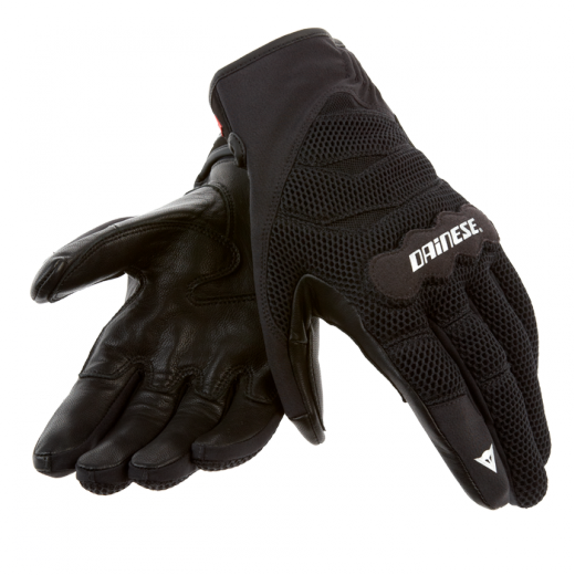 Dainese Air Tex motorcycle gloves black-black