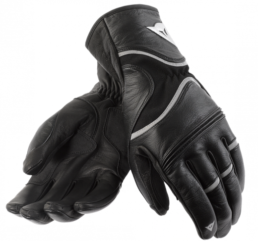 Dainese RS2 motorcycle gloves black-refractive-black
