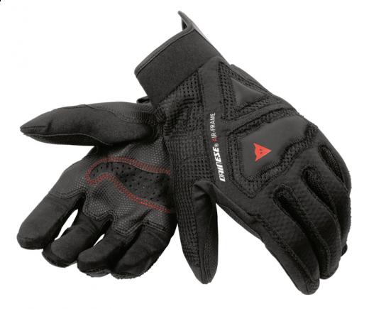 Guanti moto Dainese Air-Frame nero-nero-nero
