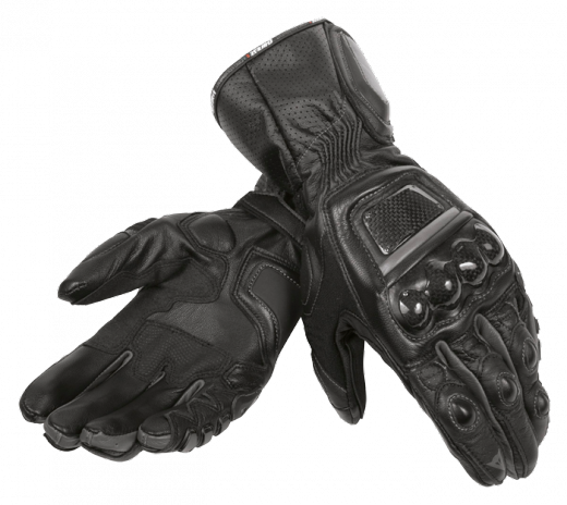 Guanti moto Dainese Steel Core Carbon nero-nero-nero