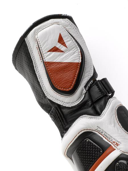 Dainese Steel Core Carbon motorcycle gloves black-black-yellow