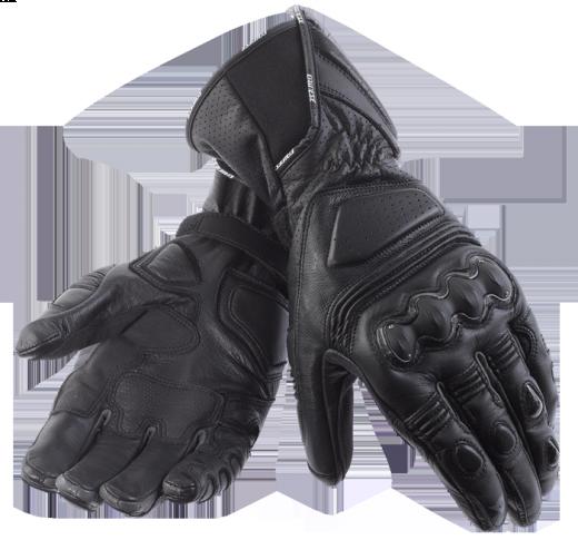 Dainese Pro Carbon motorcycle gloves black-black-black