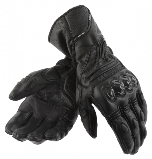 Dainese Carbon Cover motorcycle gloves black-black-black