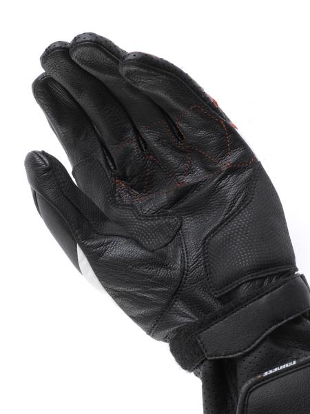 Dainese Redgate motorcycle gloves black-black-black