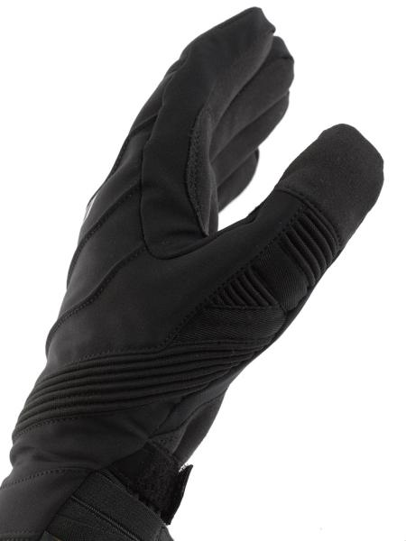 Dainese Garda D-Dry motorcycle gloves black-red-black