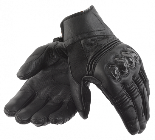 Dainese Ricochet motorcycle gloves black-black-black