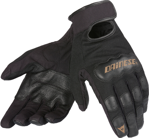 Dainese Double Down summer motrocycle gloves black
