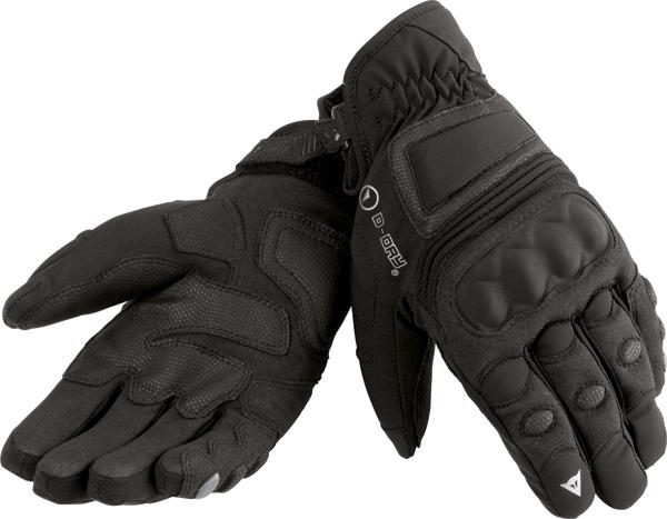 Guanti moto Dainese Clutch D-Dry nero-nero