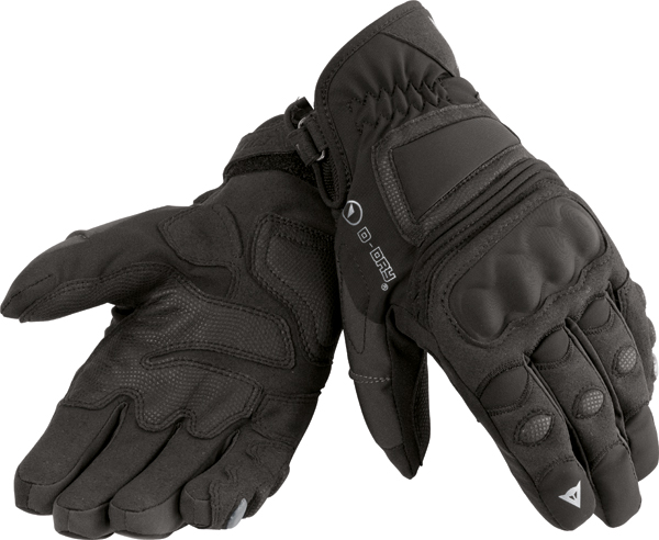 Dainese Clutch D-Dry motorcycle gloves black-carbon