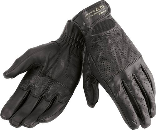 Dainese Dakota leather summer gloves black