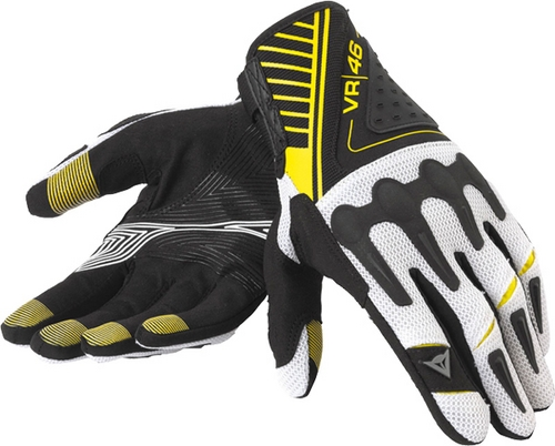 Dainese VR46 Crosser off-road loves black-yellow fluo