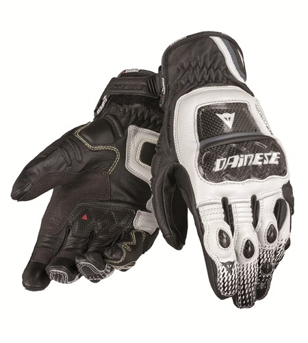 Dainese Druids S-ST leather gloves black-white-anthracite