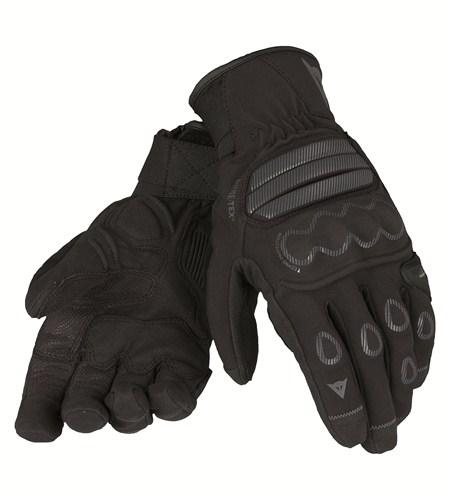 Guanti moto Dainese Veleta Gore-Tex X-Traffit nero carbonio nero