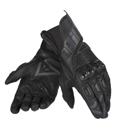 Dainese Crono leather gloves black-black