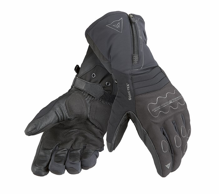 Motorcycle Gloves Dainese Jerico Evo GTX Black