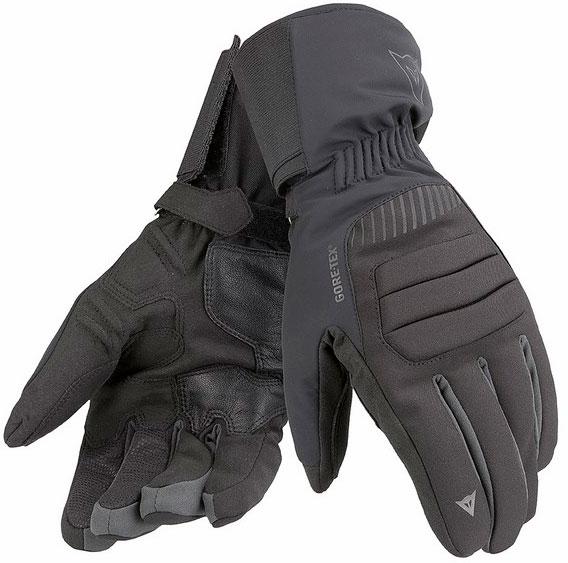 Dainese Travelguard GTX black black carbon gloves