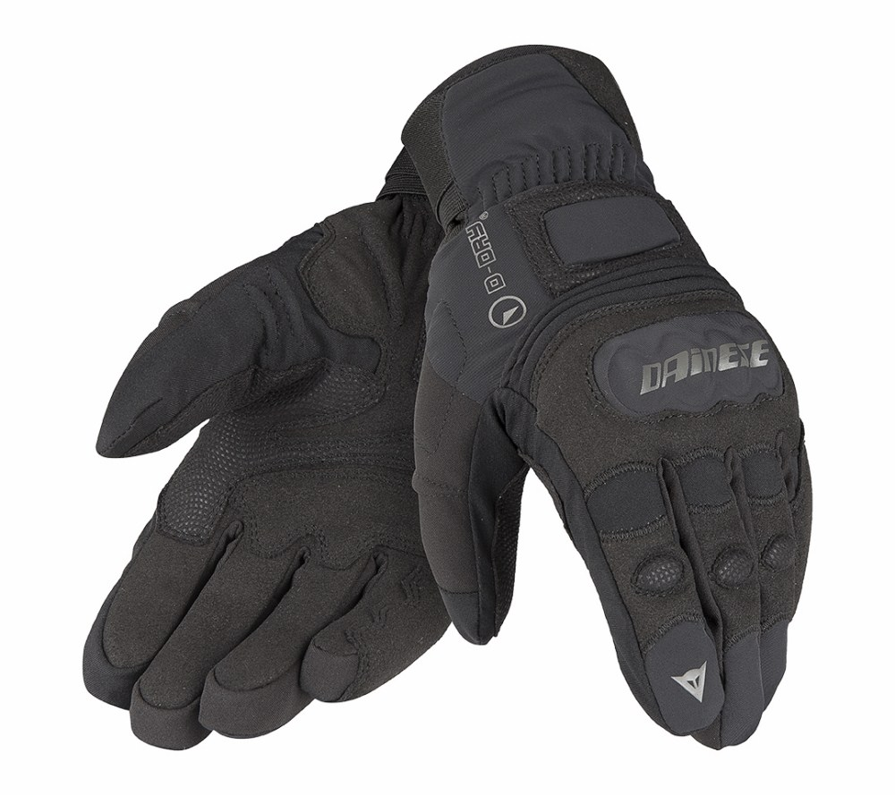 Dainese Clutch Evo D-Dry winter gloves Black Anthracite