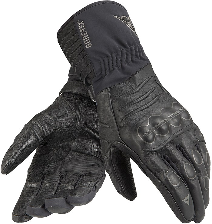 Dainese Ergotour GTX X-Trafit leather winter gloves Black