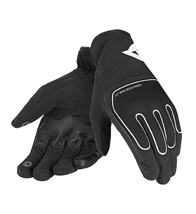 Dainese Plaza D-Dry gloves Black