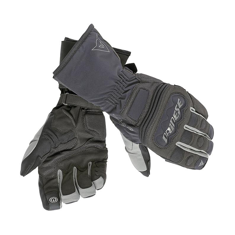 Guanti moto invernali Dainese Rainlong D-Dry Nero Antracite