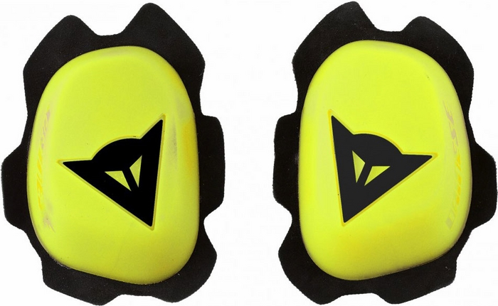 Knee Sliders Dainese Knee Slider B60D11 Yellow Black