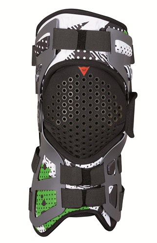 Dainese Tutore support for knee joint black-green-white