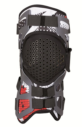 Dainese Tutore support for knee joint black-red-white