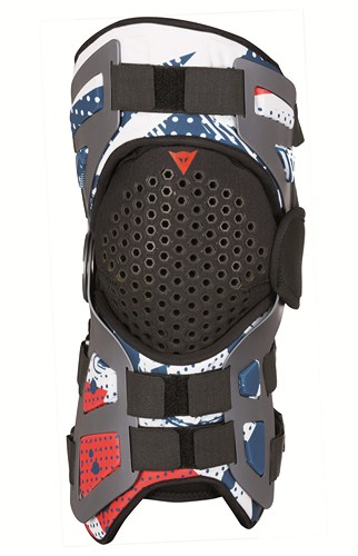 Dainese Tutore support for knee joint blue-red-white