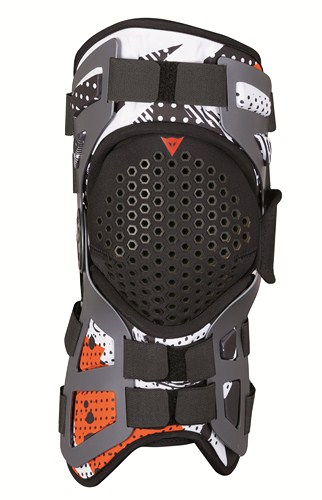 Dainese Tutore support for knee joint black.white orange