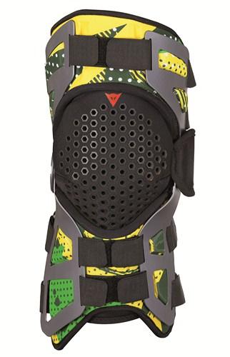 Supporto artic. ginocchio Tutore Dainese verde-verde-giallo