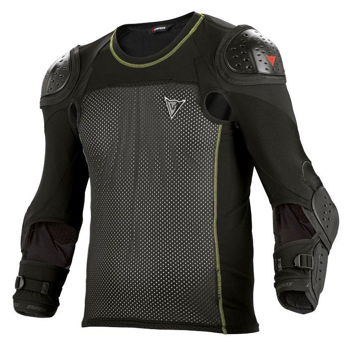 Maglia Dainese con protezioni Hybrid Shirt E1 Nero