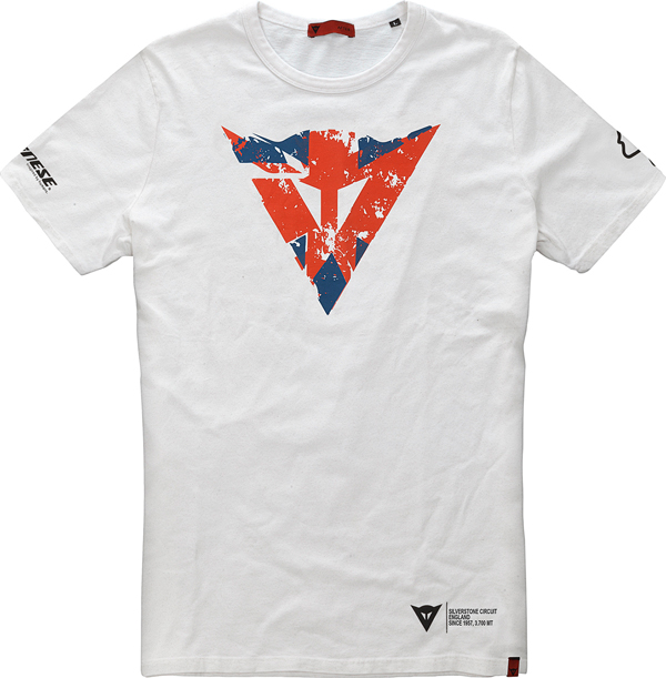 T-Shirt Dainese Flag Silverstone