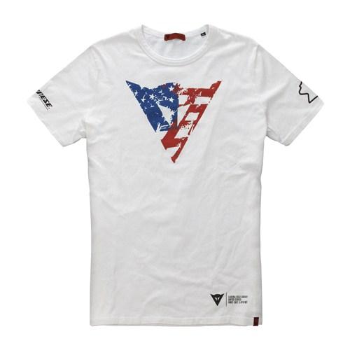 T-Shirt Dainese Flag Laguna Seca