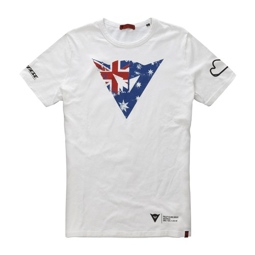T-Shirt Dainese Flag Phillip Island