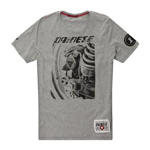 T-Shirt Dainese Rear Brake grigio melange