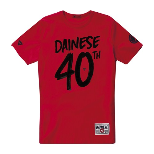 Dainese 40 t-shirt red