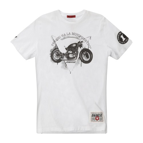Dainese Dark Custom T-Shirt white