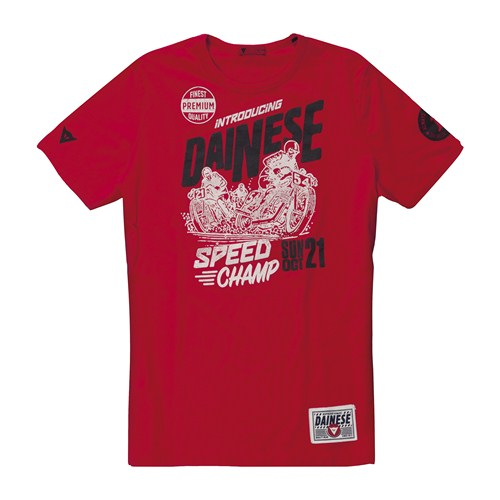 Dainese Speed Champ T-Shirt red