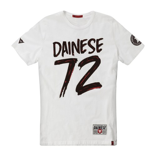 Dainese 72 T-Shirt white