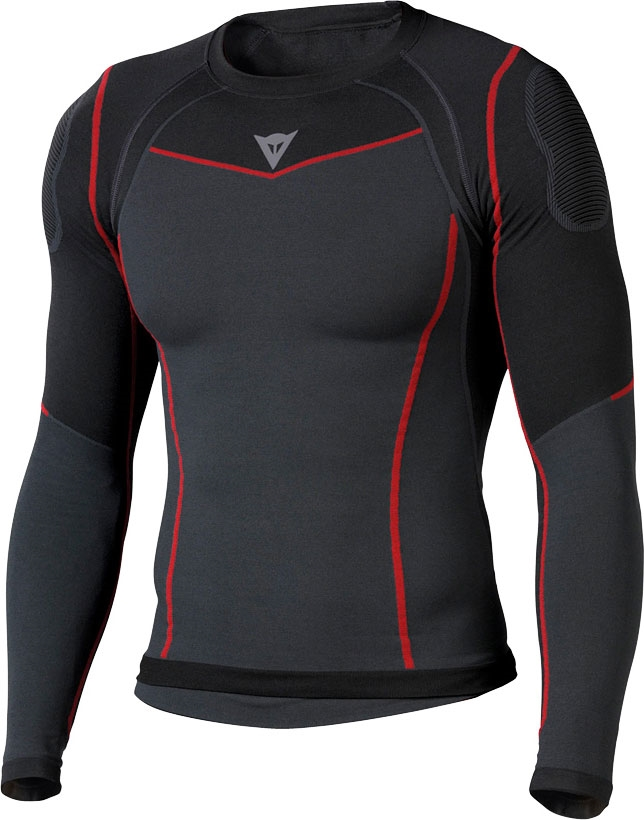 Dainese Seamless Underwear T Shirt Black Anthracite Active