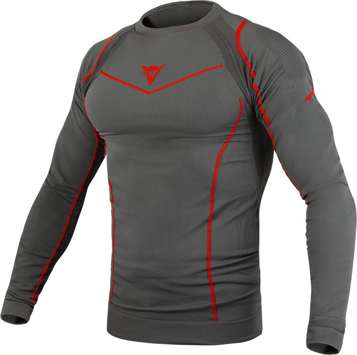 Maglia intima Dainese Dynamic-Cool Tech LS Antracite
