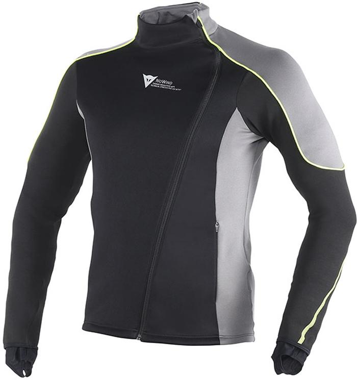 Dainese D-Mantle Fleece WS underwear Black Antracite Yellow