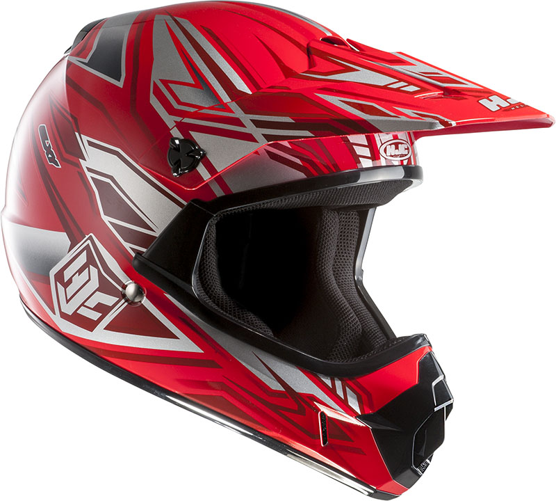 Cross helmet HJC child CLXY Fulcrum MC1