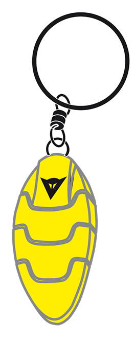 Dainese Lobster key-ring yellow