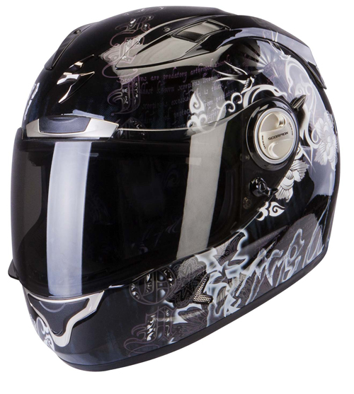 Scorpion Exo 1000 Air Astral full face helmet Black Chameleon