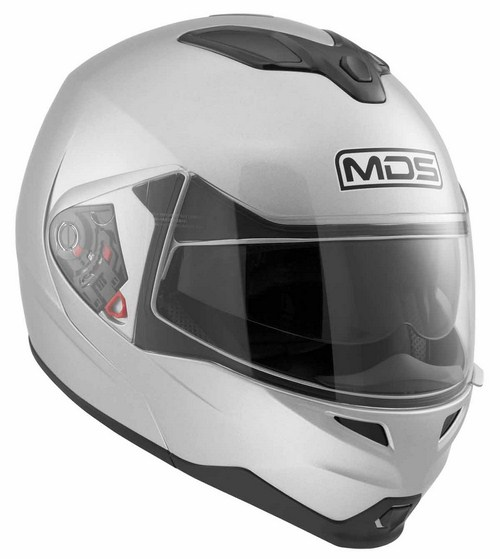 Mds by Agv MD200 Mono open-face helmet silver