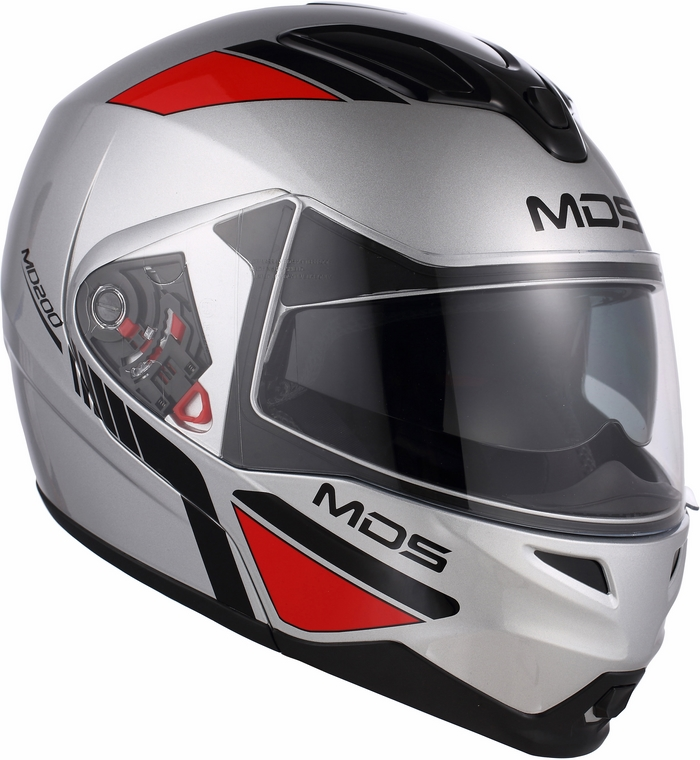 Mds by Agv MD200 Multi Traveller silver helmet