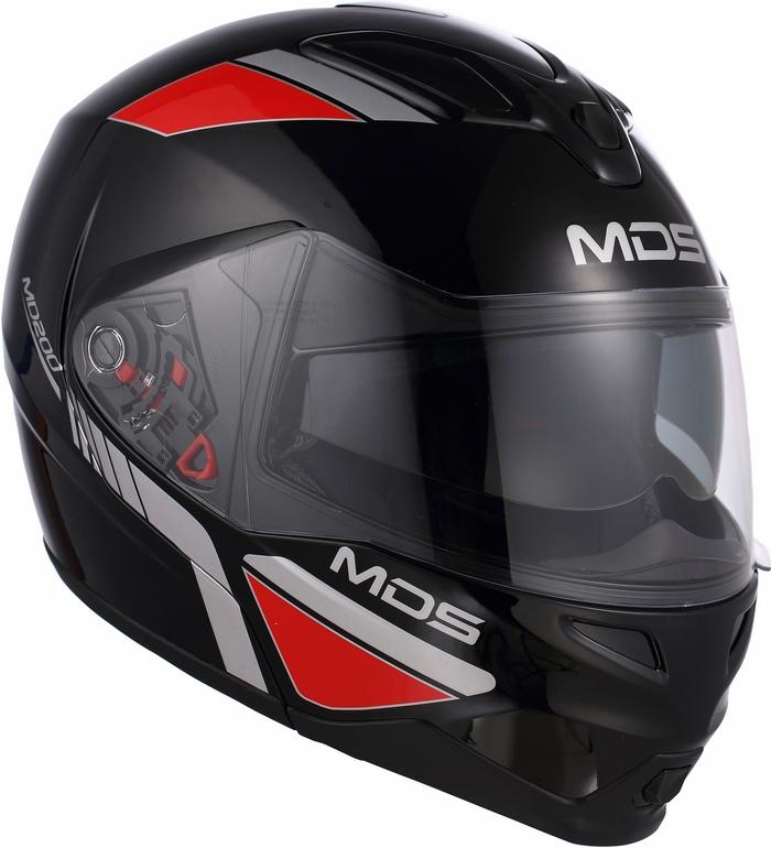 Casco moto Mds by Agv MD200 Multi Traveller nero