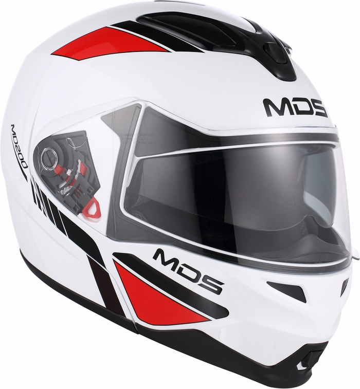 Casco modulare Mds by Agv MD200 Multi Traveller bianco