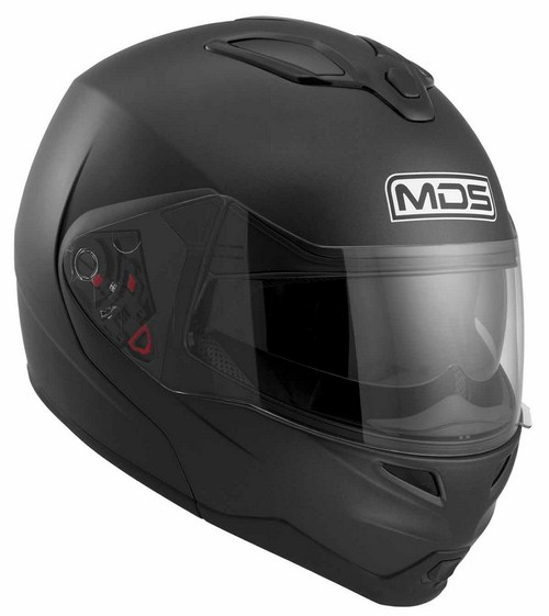 Mds by Agv MD200 Mono open-face helmet flat black